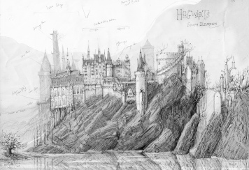 Early Concept Study of Hogwarts