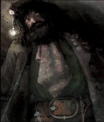 Hagrid's Entrance.