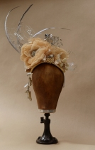 Winner of First Prize in the Milliners and Hatters Open Competition at the Bridport Hat Festival, Sep. 2017