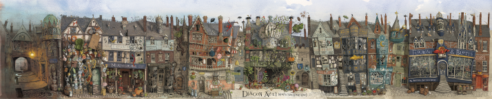 Diagon Alley North Side (Part One)