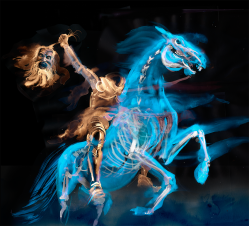 Ghost on Horseback