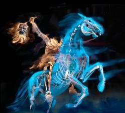 Ghost on Horseback