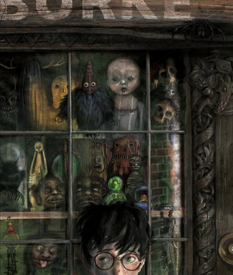 Harry in Knockturn Alley