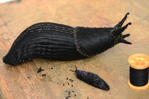 Two more pieces in progress for slug-based hats, something we have had planned for a while now.