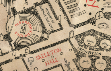 Marauder's Map (detail)