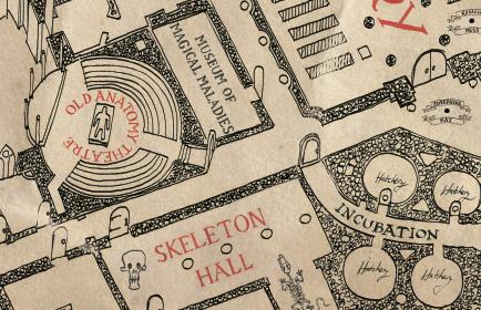 Marauder's Map (detail)